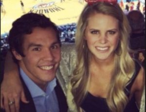 Emma Lavy Bradford with his Husband Sam Bradford