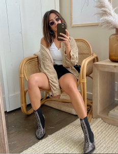 Megan Batoon Selfie