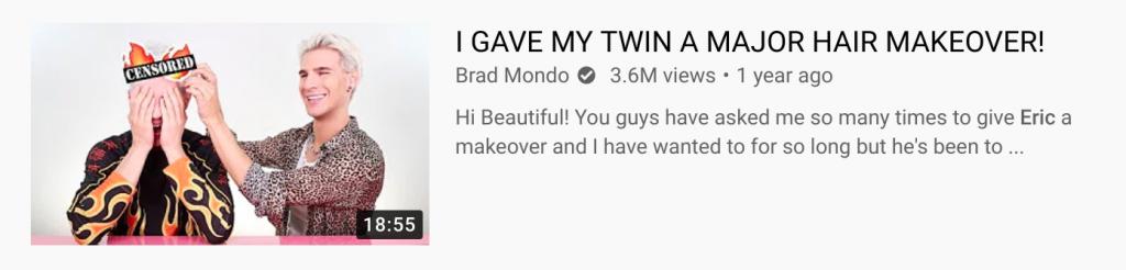 Brad and Eric Mondo