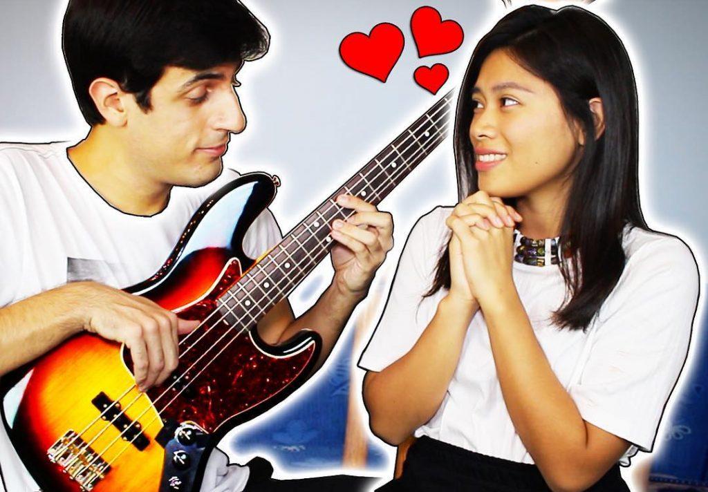Davie504 with his girlfriend Drungayu